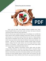 Eksistensi Pancasila