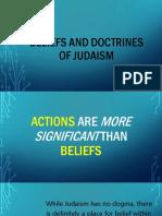 Beliefs and Dotrines