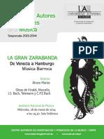 06 Programa de Mano Zarabanda