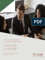 Master's Degree Switzerland London 2019 Tuition Fees