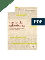 DocGo.net-baixar-A Arte Da Sabedoria de Baltasar Gracian-PDF-[GRATIS].PDF