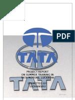 Summer Training Report at TATA MOTORS