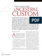 Ancestral Custom War Dead in Ancient GRE