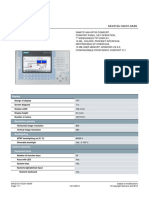 76. (6es7321-1fh00-0aa0) Simatic s7-300 Digital Input 16ch
