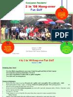 Fun Golf '08 Invites
