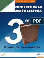 Lecturas con preguntas  y respuestas - 3º secundaria.pdf