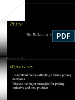 Marketing mix - PRICE.ppt