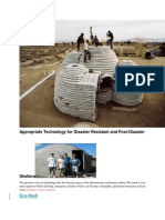 Appropriate Technology for Disaster Resistant and Post-Disaster