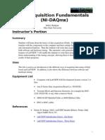 DataAcquisitionFundamentalsNIDAQmx