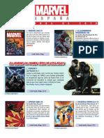 Novedades Panini Marvel noviembre 2018