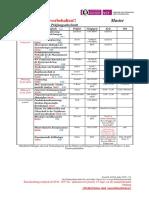 Prüfungsplan VT Master WS18-19