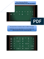 Staff Paper PDF Free Template