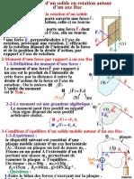7-Equilibre d'Un Solide en Rotation Autour d'Un Axe Fixe