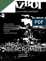Abercrombie Joe Jumatate de Razboi 3