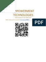 Student Reader, Empowerment Technologies.docx