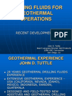 Geothermal Drilling Fluid Presentation