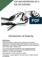 Sodomy New