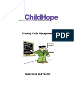 Childhope Training Cycle