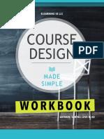 Course Design Workbook Vsm