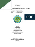 Tugas SPI - Sejarah Peradaban Arab Sebelum Islam