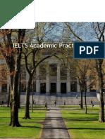 IELTS Practice Materials Academic Test