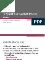 Penyakit Kulit Akibat Infeksi Virus