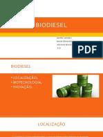 Primeira Apresentação de Biodiesel