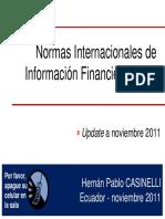 Impactos de Las NIIF a Nivel Mundial Hernan Casinelli 2011.11.15 (1)