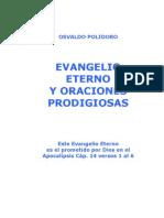 EVANGELIO ETERNO Y ORACIONES PRODIGIOSAS
