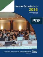 CNEE Informe Estadistico 2016