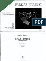 Farkas Ferenc - Gitar Dalok ,Dsida Jeno Verseire ,Edit.Csend Van[Voice & Guitar].pdf