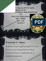 D.L. 1267 LEY DE LA PNP