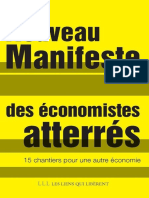 Nouveau Manifeste Des Economist - Economistes Atterres