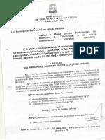 Plano Diretor Municipal de Cabaceiras - PB