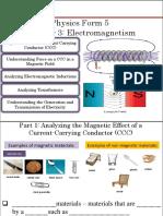 Electromagnetism Part 1 Students