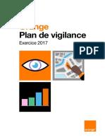 Plan de Vigilance Orange 2017
