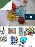 Conceptos de validación en Análisis Instrumental