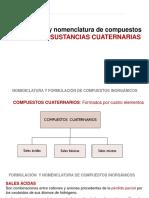 nomenclatura cuaternaria inorganica