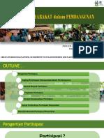 Partisipasi Masyarakat dalam Pembangunan