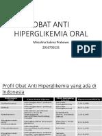 Obat Anti Hiperglikemia Oral