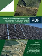 5. Pre-Viabilidade Implantação Usina Solar Fotovoltaica