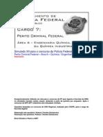 Simulado XII - PCF Área 6 - PF - CESPE