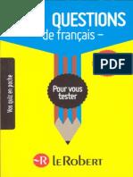1000 Questions Francais
