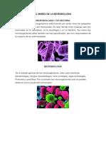 El Mundo de La Microbiologia