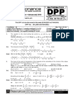 Class XII Physics DPP Set fffffffffffffffffff(01) - Previous Class XI Chapters