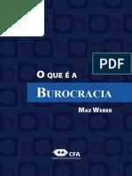 WEBER, Max. O que é a burocracia.pdf