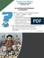 Re Hist9 Enl Tarefas Com Historia