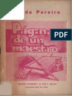 Páginas de un Maestro