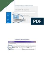 Configuracion Outlook