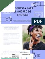 PROPUESTA DE AHORRO DE ENERGÍA EN EL CONTEXTO INMEDIATO